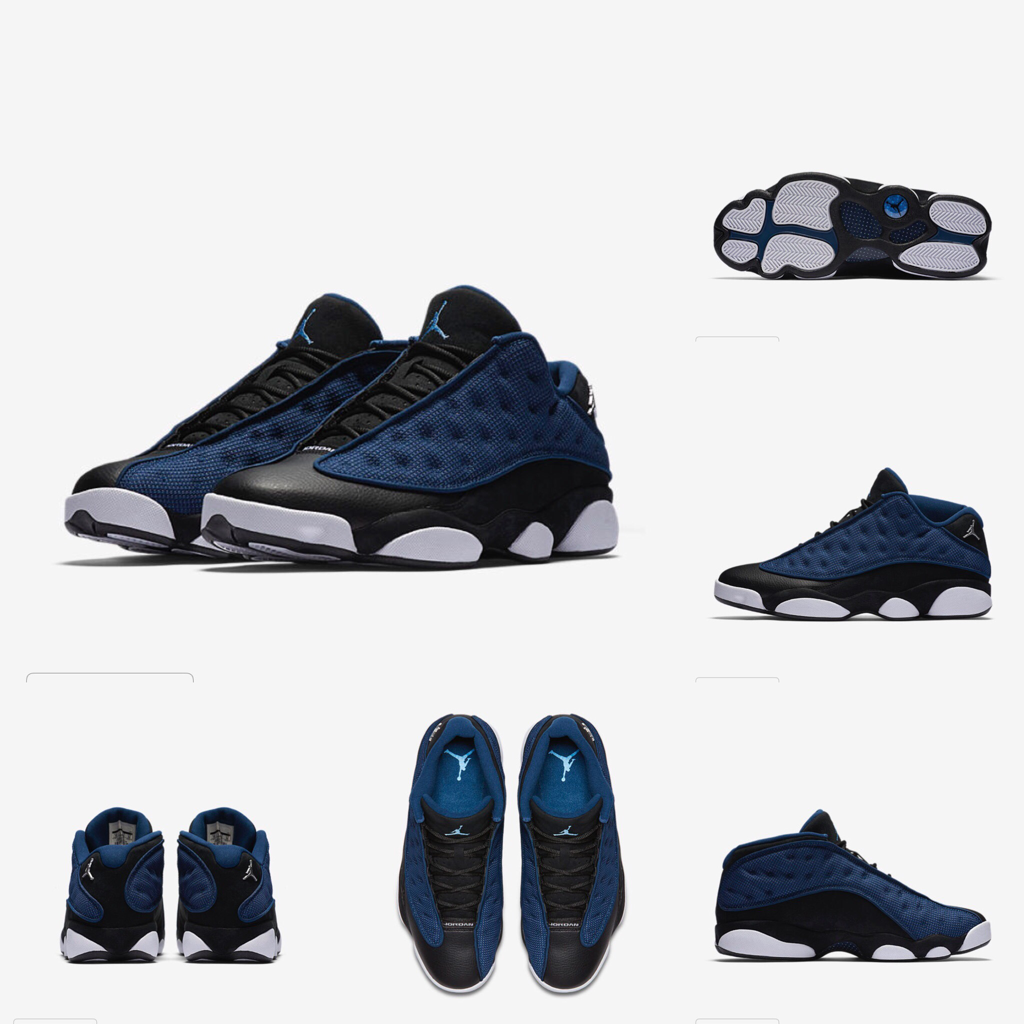 detailed look a9639 38441 Retro Black & Blue jordan 13s $175 4/8/17 Follow to see the ...
